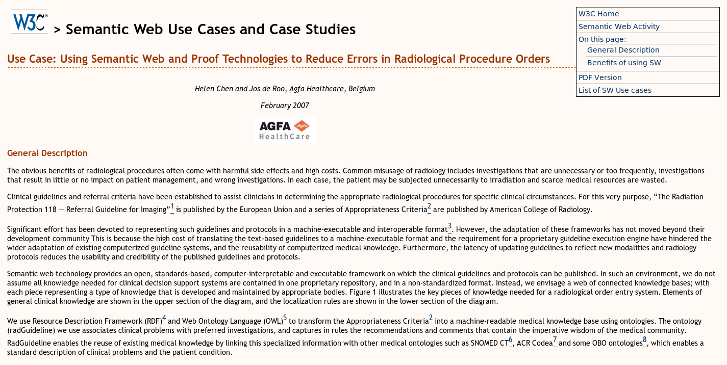 Using Semantic Web and Proof Technologies to Reduce Errors in Radiological Procedure Orders