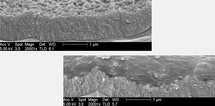 offset plate printing magnified