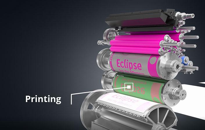 Printing offset press