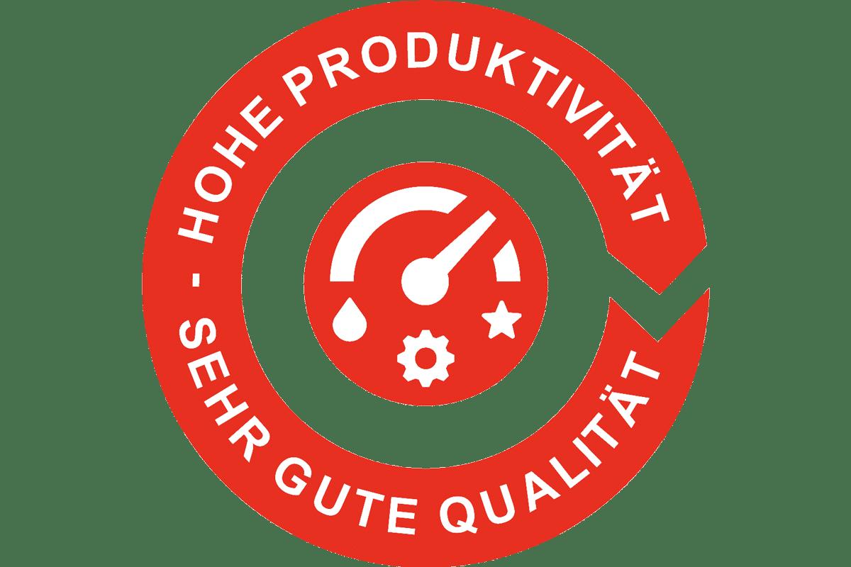 Sehr hohe Produktivität. Sehr gute Qualität. - Agfa Products