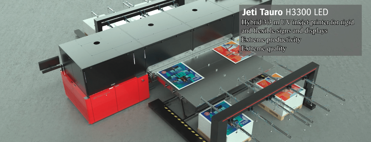 Jeti Tauro H3300 Led 3D Animation
