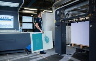 Adamas offset printing plate