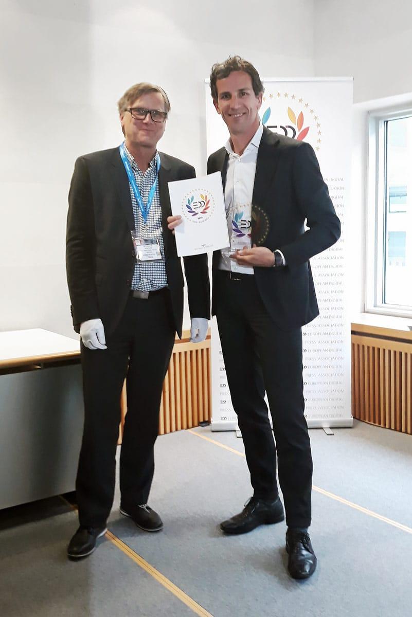 EDP award at FESPA