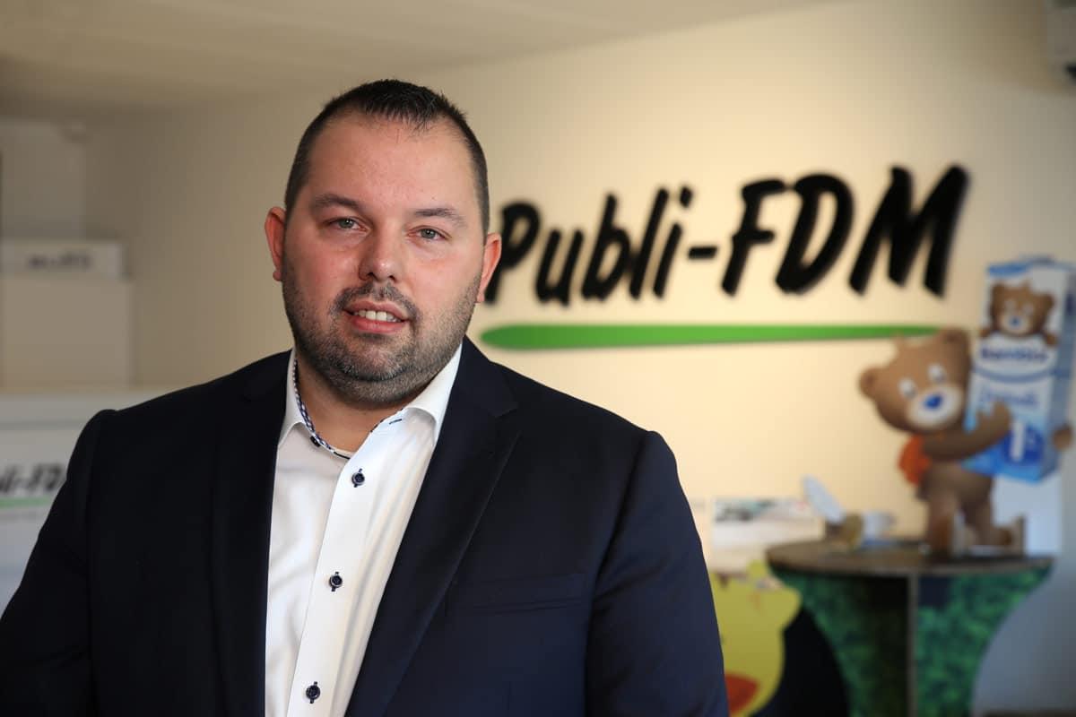 Franky De Meyer, CEO of Publi-FDM