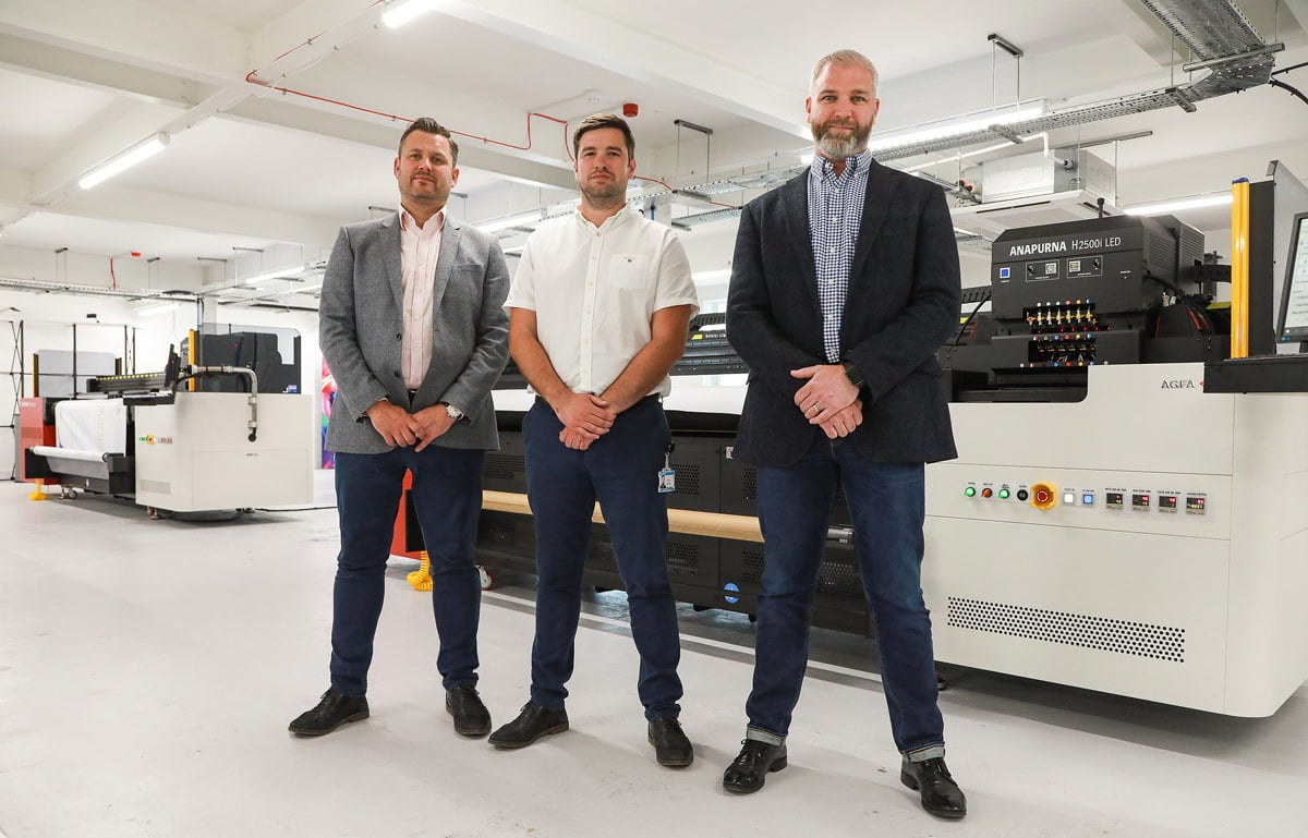 Two new Anapurna presses for Solopress UK