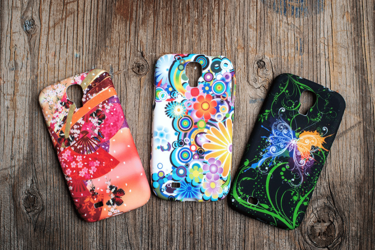 UV Inks phone covers