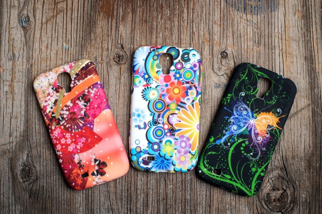 UV Inks phone covers