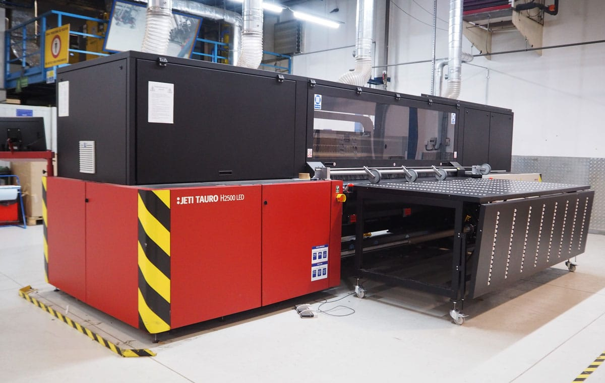 Agfa Jeti Tauro large-format printer
