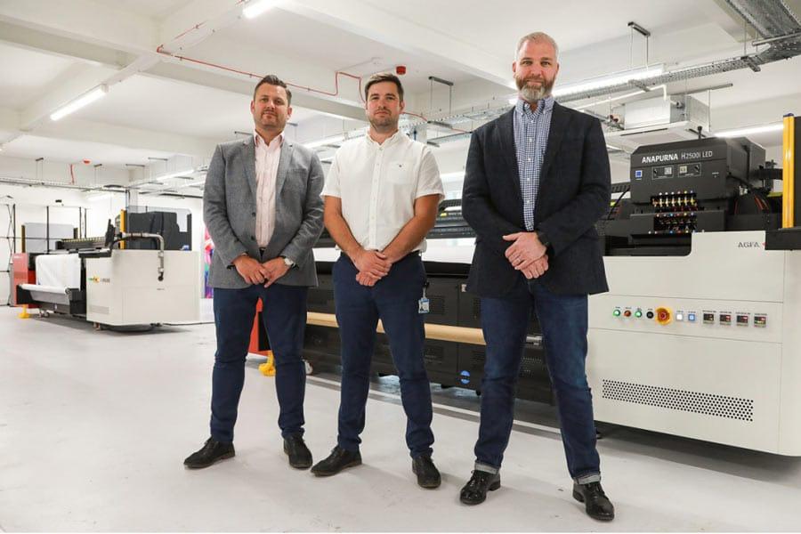 Solopress team & Anapurna printers
