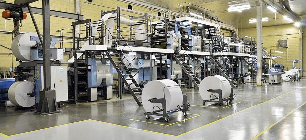Printing press at 3 PONTOS