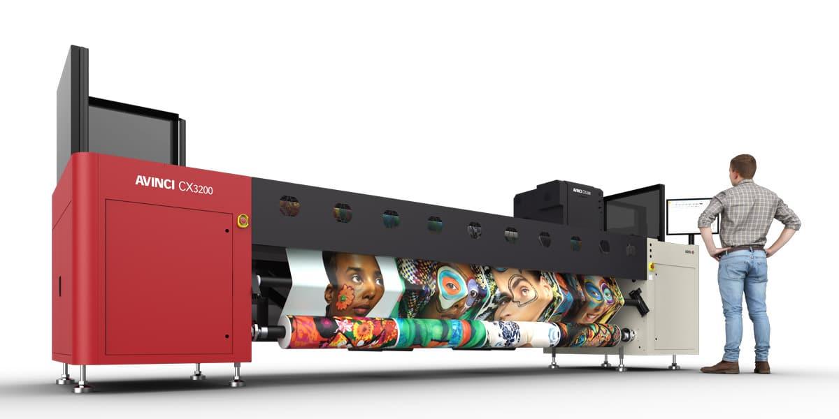 Avinci CX3200 soft-signage printer