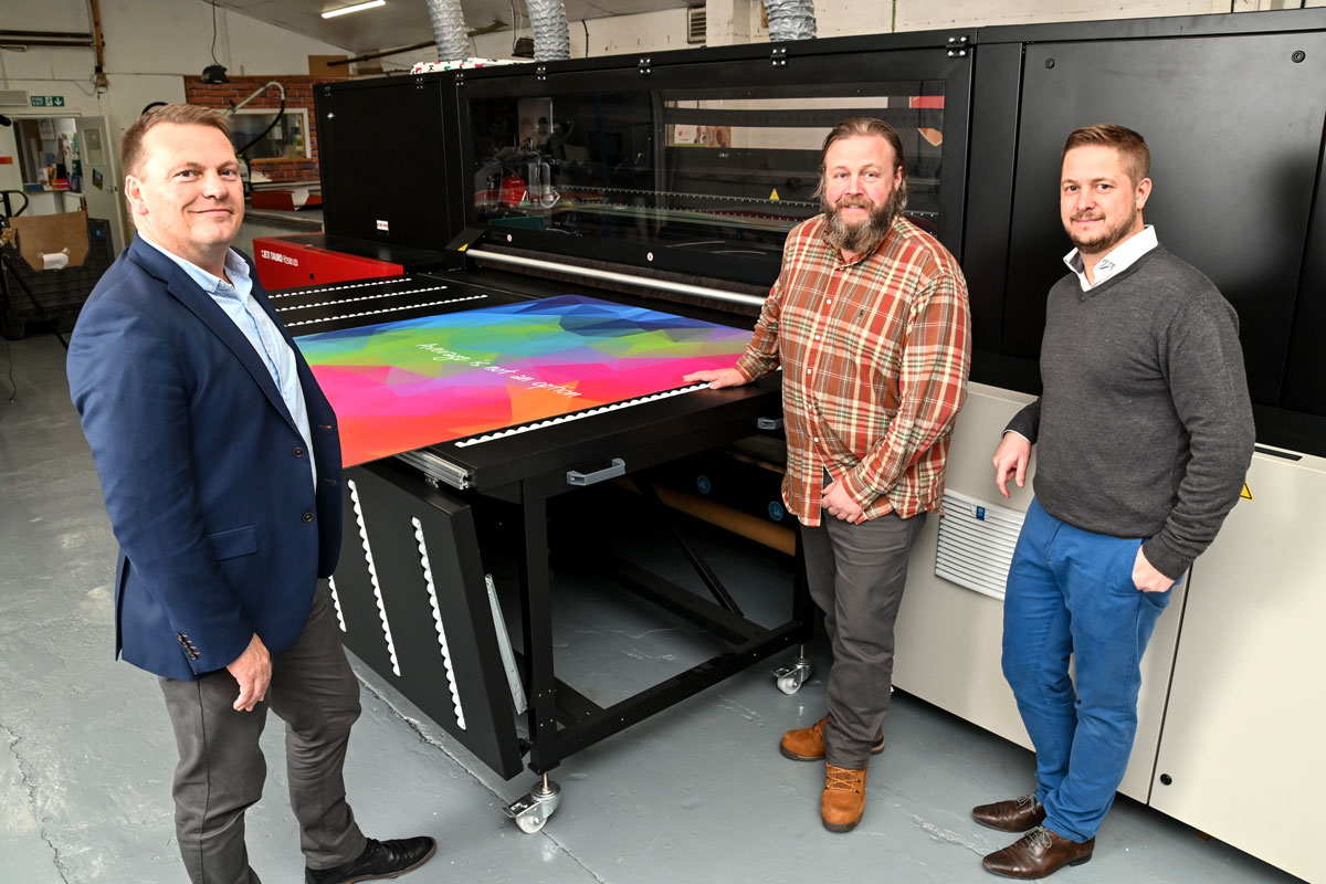 Platinum installs a Jeti Tauro inkjet printer