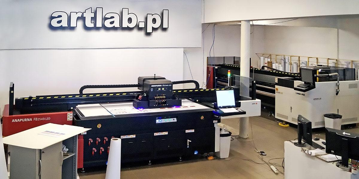 Anapurna printers at Artlab