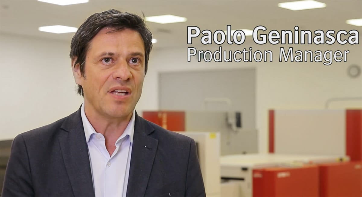Paolo Geninasca, Production Manager