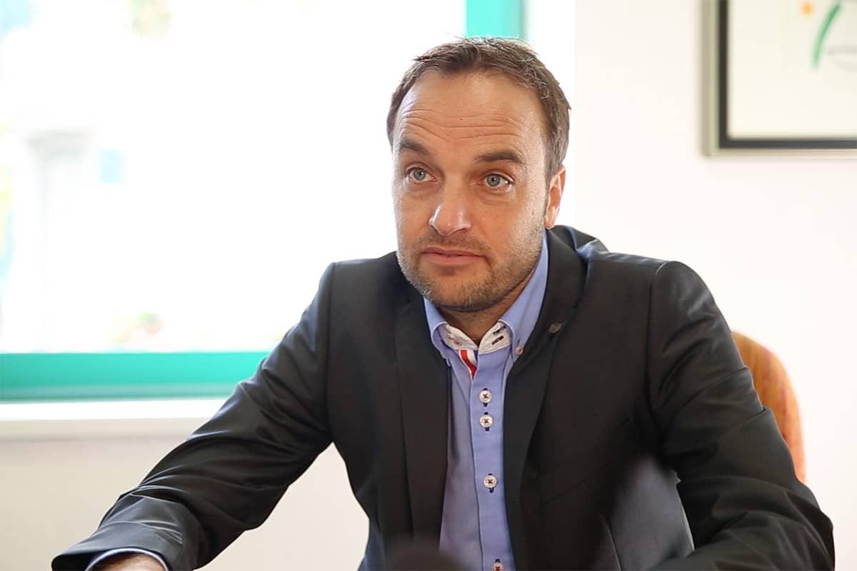 Klaus Huber, Managing Director Holzer Druck und Medien
