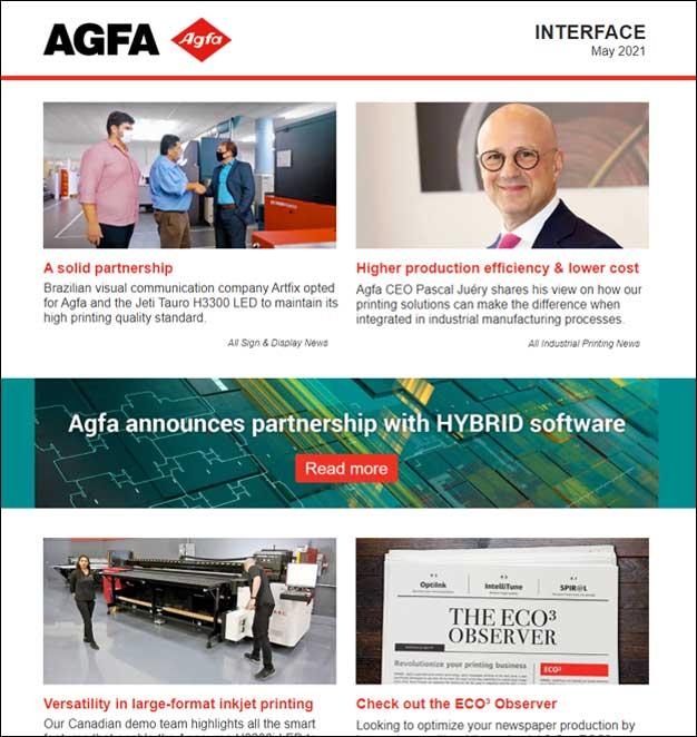 Agfa INTERFACE newsletter