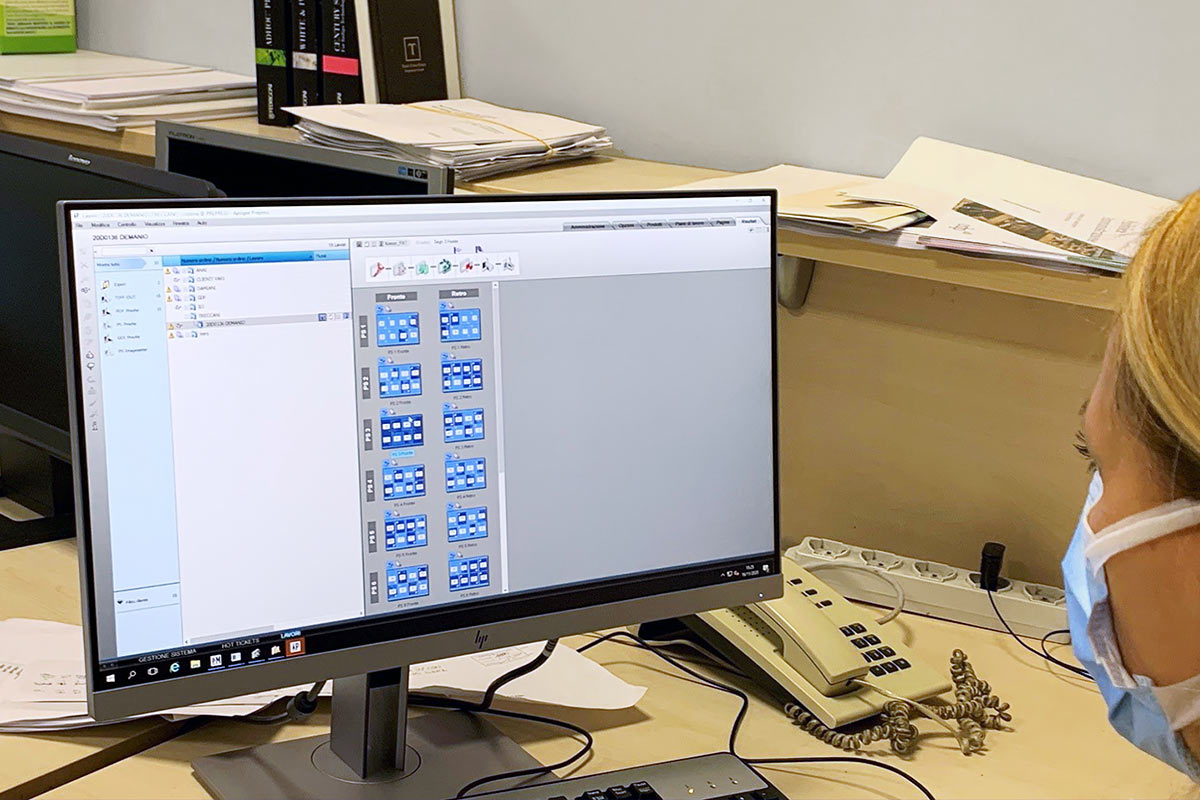 Apogee Prepress workflow at Marchesi