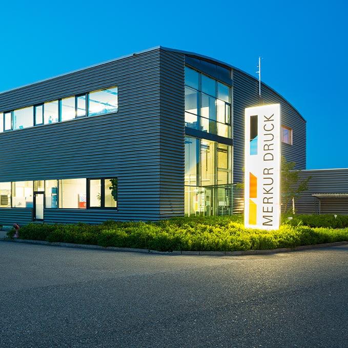 Merkur Druck printing plant