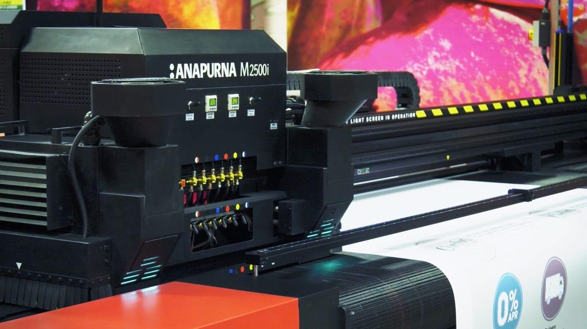 Anapurna large format printer at ProCo