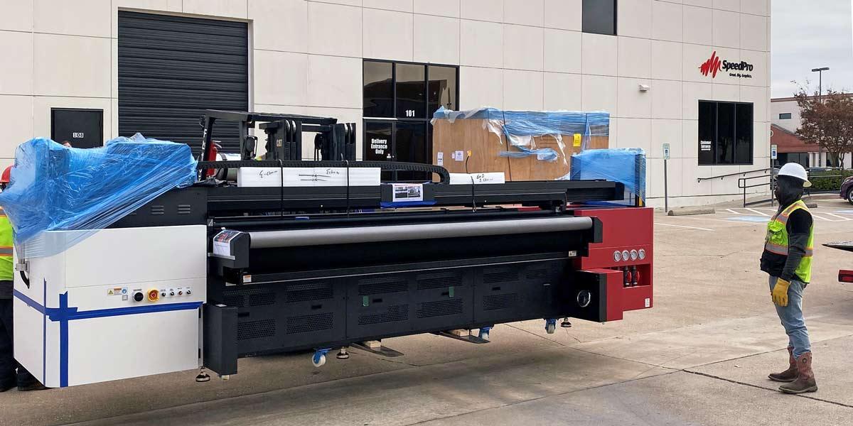 unloading the inkjet printer