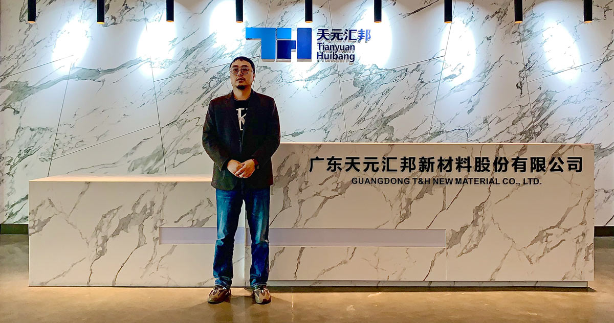 Mr Zhang, CEO TYBH Group
