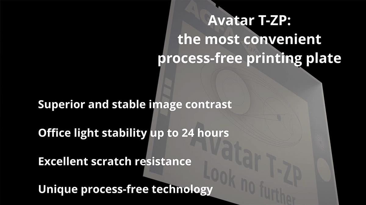 Avatar T-ZP advantages