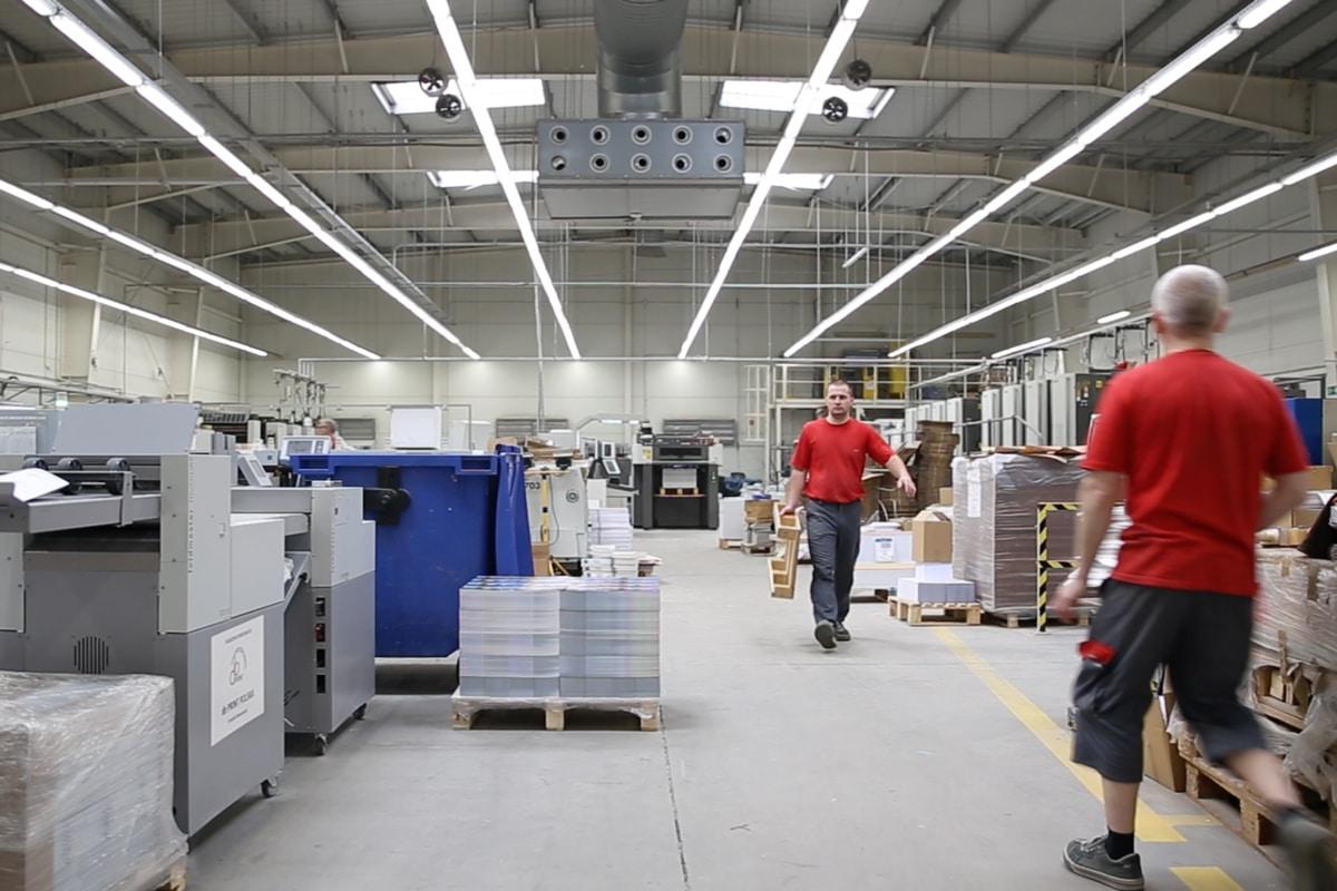 DB Print Polska Press Room