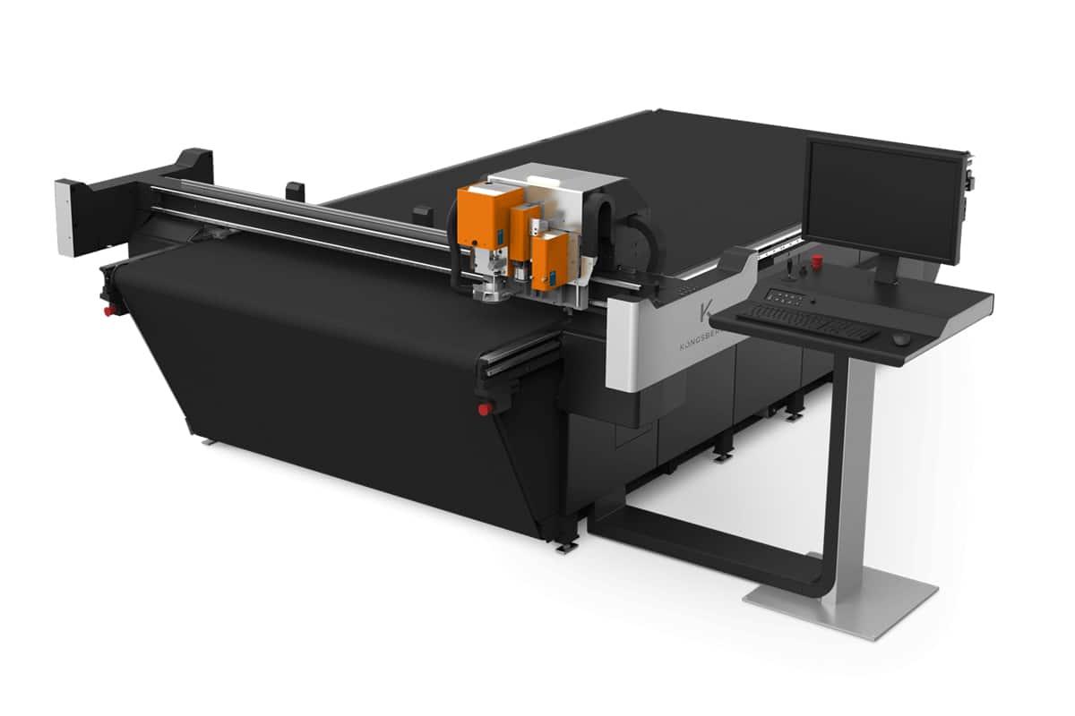 Kongsberg print finishing equipment