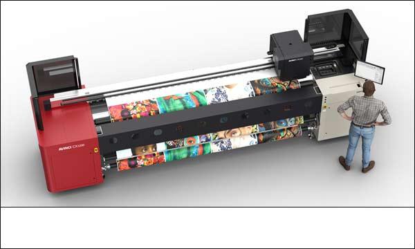 Avinci CX3200 soft signaage printer