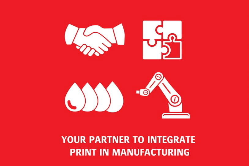 Agfa - your partner to integrate print in manufacturing