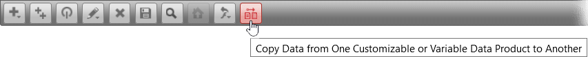 Copy data in Chili Publish documents