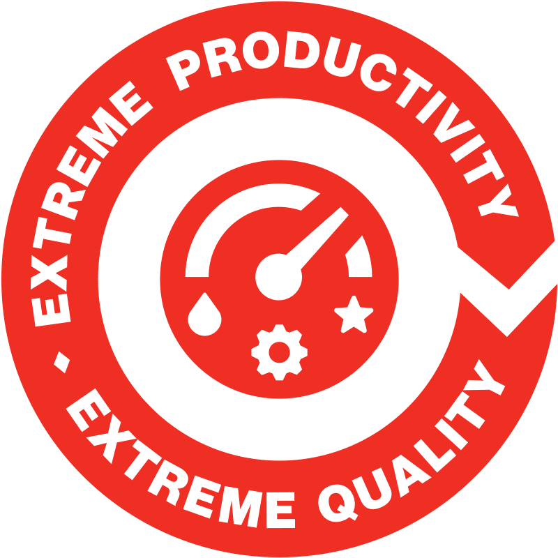 Extreme productivity - Extreme quality
