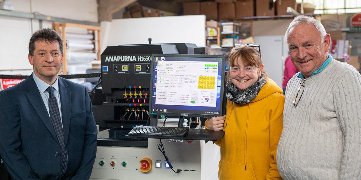 New Anapurna printer at Trade Discount Signs