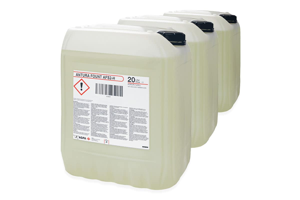 Antura fountain solution canisters