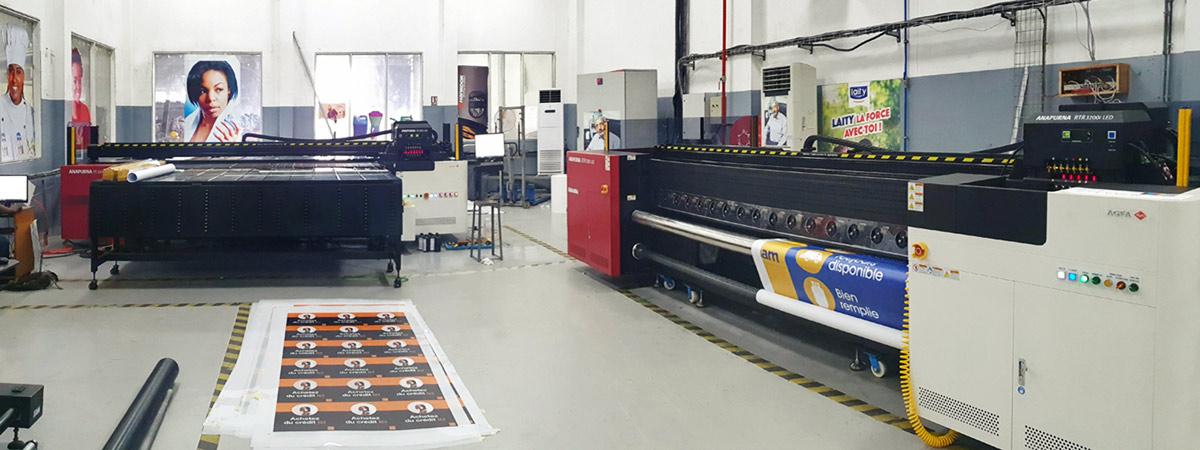 Anapurna large-format printers at IPB