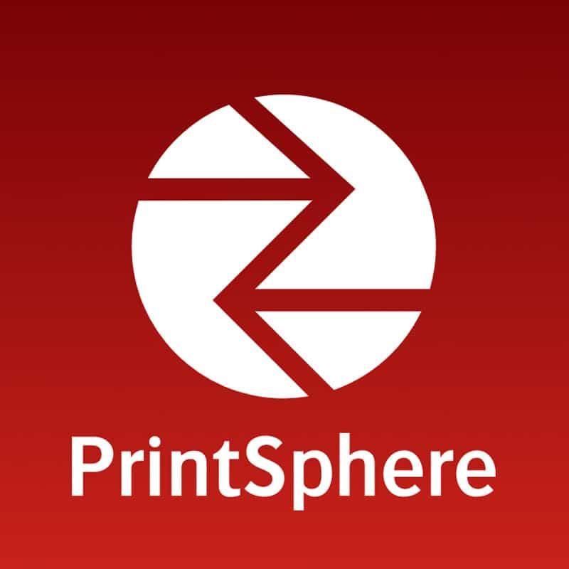 PrintSphere cloud-based data exchange