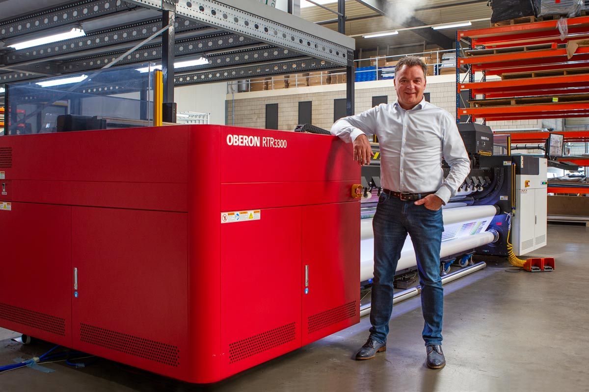 Oberon Roll-to-roll printer at TVE