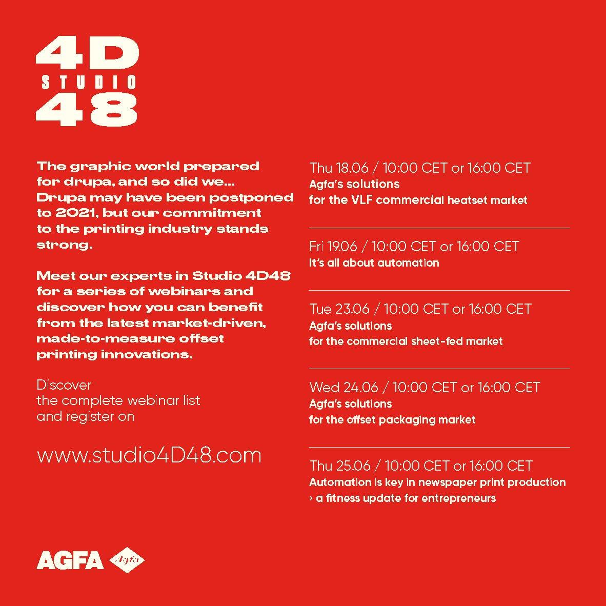 Studio 4D48 invitation back