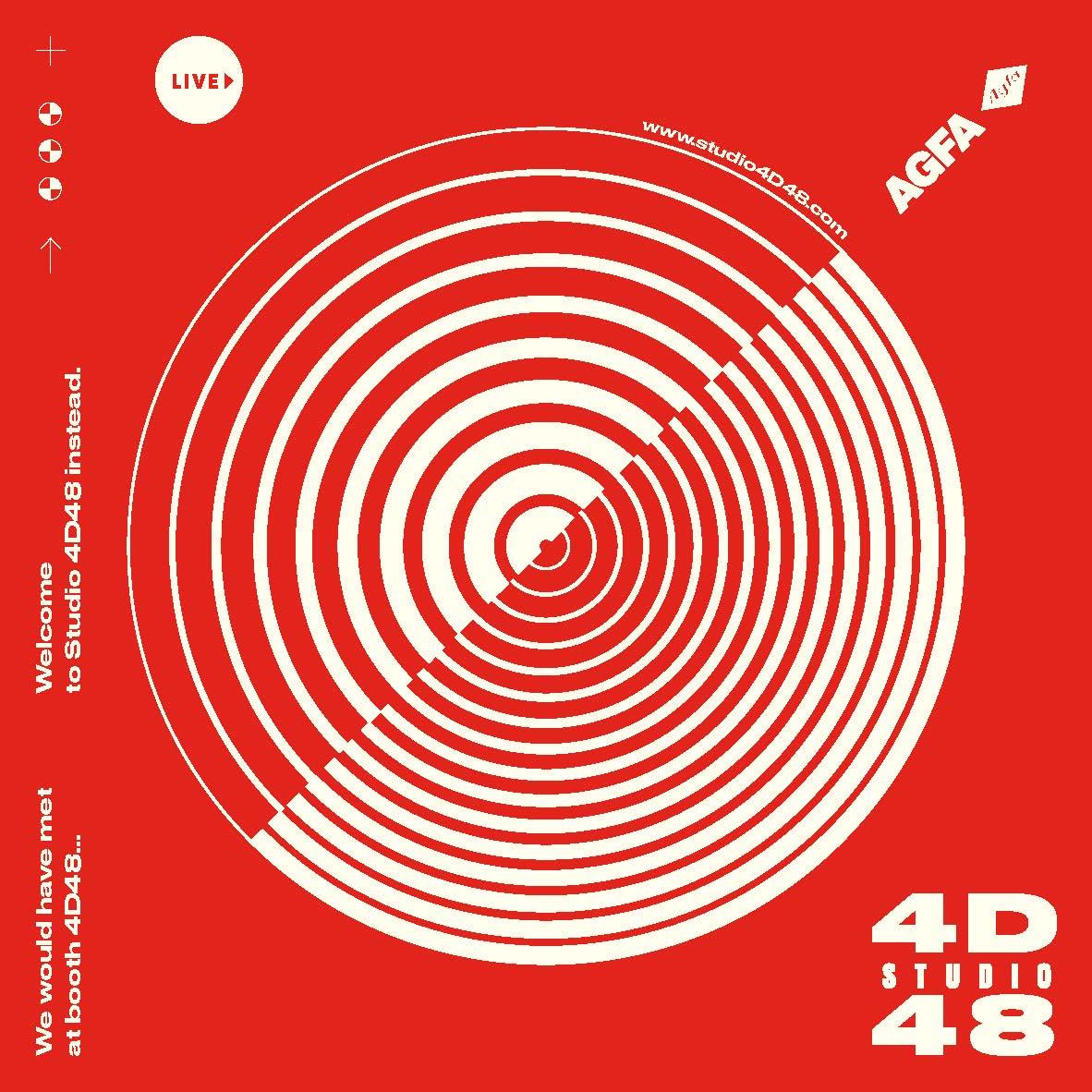 Studio 4D48 invitation front