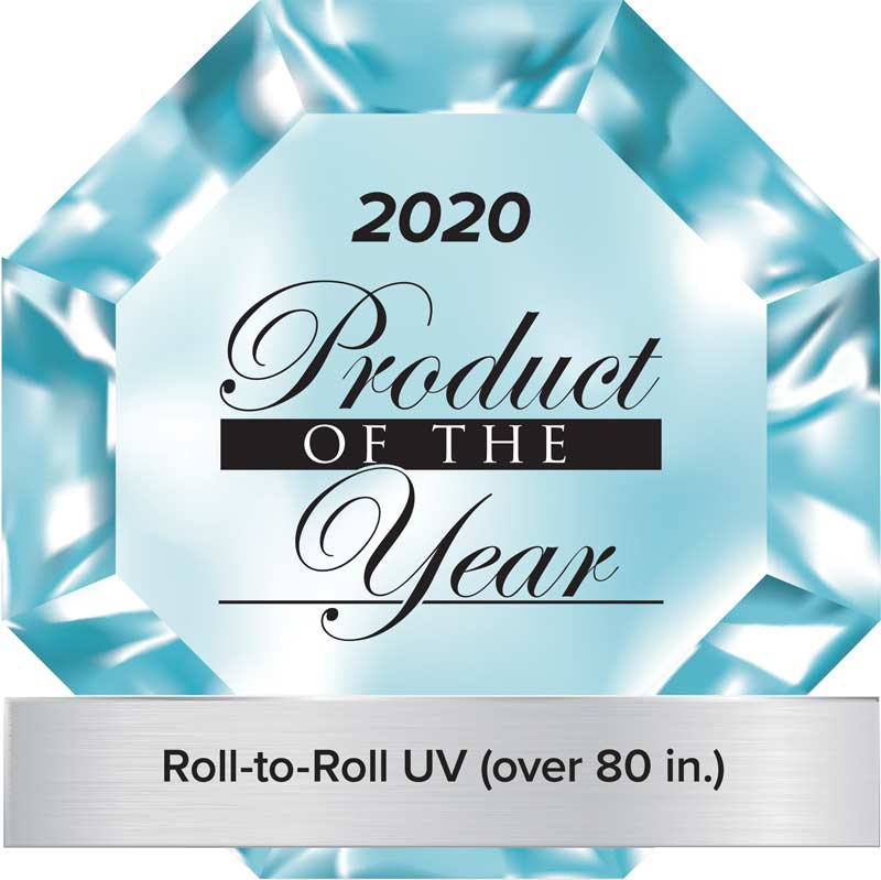 2020 Product of the year Roll-to-roll printers