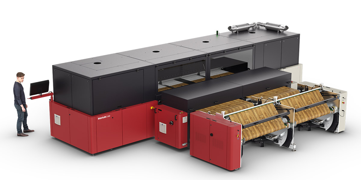 Agfa InterioJet 3300 for laminate surfaces