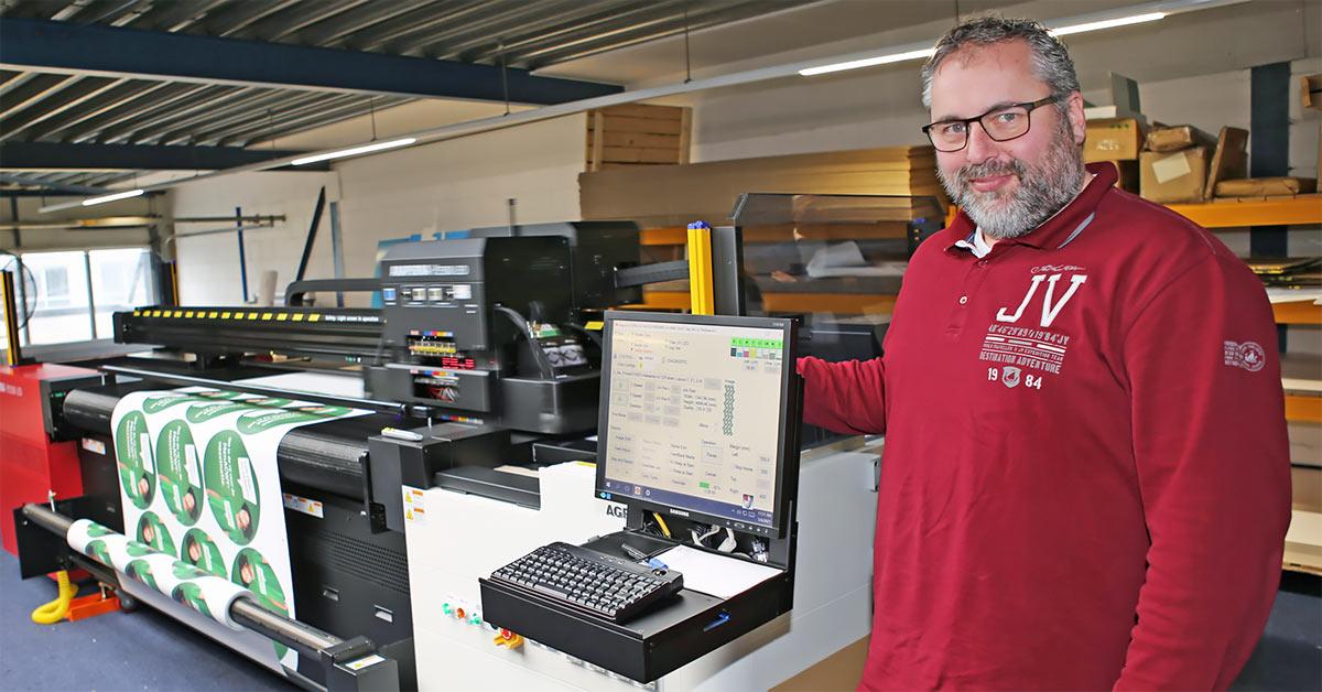 Schultenprint investering grootformaat printer