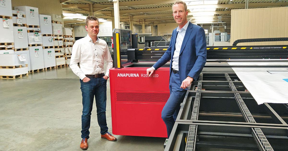 Anapurna large-format printer at Haletra