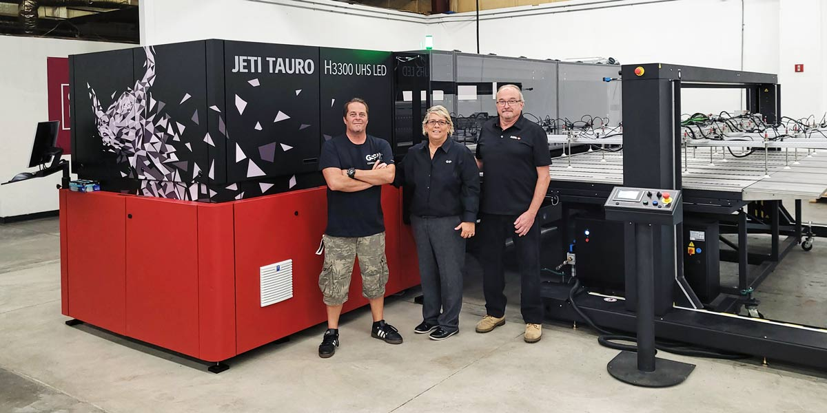 GSP first Jeti Tauro UHS install
