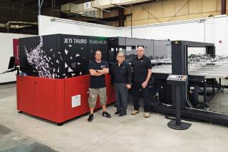 GSP Tauro UHS large format printer install