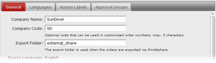export order data for automated processing