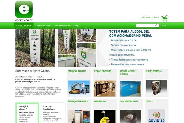 Brazilian online shop